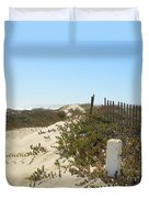 Pacific Pathway Duvet Cover