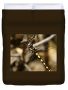 Pacific Spiketail Dragonfly On Mt Tamalpais 2 Duvet Cover