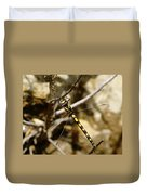 Pacific Spiketail Dragonfly On Mt Tamalpais Duvet Cover