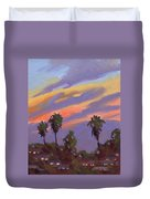 Pacific Sunset 1 Duvet Cover