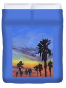 Pacific Sunset 2 Duvet Cover