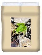 Pacific Tree Frog 2a Duvet Cover