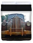 Packard One-eighty Grill Duvet Cover