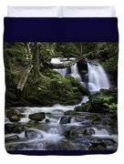 Packer Falls And Creek Duvet Cover