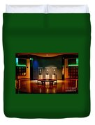 Packer Hall Of Fame Duvet Cover by Tommy Anderson