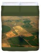 Packers Logo Farm Duvet Cover