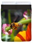 Packin Poppy Pollen Duvet Cover