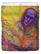 Paco De Lucia And Guardian Angel Duvet Cover