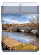 Padarn Bridge Duvet Cover