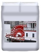 Paddle Wheel Duvet Cover by Tom and Pat Cory