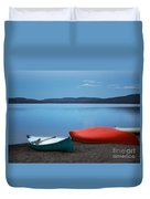 Paddle's End Duvet Cover
