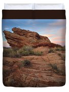Page Sunrise Rock Duvet Cover