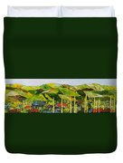 Pageantry Duvet Cover