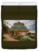 Pagoda In Norfolk Virginia Duvet Cover