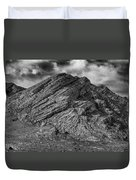 Pahranagat Mountains Duvet Cover