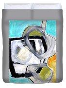 Paint Improv 12 Duvet Cover