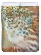 Paint Me A Cheetah Duvet Cover
