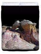 Paint Mines IIi-the Vertex Duvet Cover