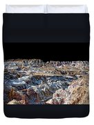 Paint Mines Iv-a Time Of Division Duvet Cover