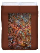 Paint Number 43 Duvet Cover by James W Johnson