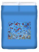 Paint Number 47 Duvet Cover by James W Johnson