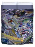 Paint Number 57 Duvet Cover by James W Johnson