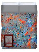 Paint Number Forty Duvet Cover