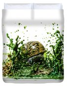 Paint Sculpture And Snail 3 Duvet Cover