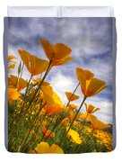 Paint The Desert With Poppies  Duvet Cover