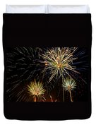 Paint The Sky With Fireworks  Duvet Cover
