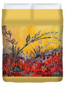 Paintbrush Astray Duvet Cover