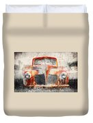Painted 1940 Desoto Deluxe Duvet Cover