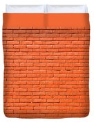 Painted Brick Wall Duvet Cover