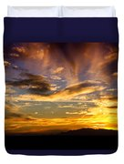 Painted By Mother Nature  Duvet Cover