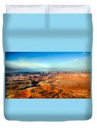 Painted Canyonland Duvet Cover