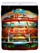 Painted Casino Duvet Cover