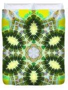Painted Cymatics 181.66hz Duvet Cover