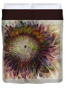 Painted Daisy Duvet Cover
