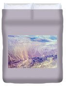 Painted Earth I Duvet Cover by Jenny Rainbow