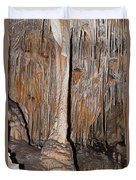 Painted Grotto Carlsbad Caverns National Park Duvet Cover