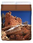 Painted Hand Pueblo Duvet Cover