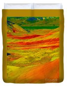 Painted Hills 2 Duvet Cover