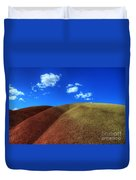 Painted Hills Blue Sky 1 Duvet Cover