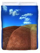 Painted Hills Blue Sky 2 Duvet Cover