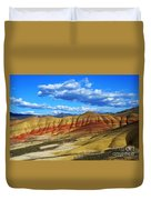 Painted Hills Blue Sky 3 Duvet Cover