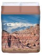 Painted Hills Of The Upper Jurrasic Duvet Cover
