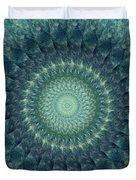 Painted Kaleidoscope 6 Duvet Cover