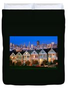 Painted Ladies Duvet Cover