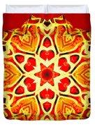 Painted Lotus Xi Duvet Cover