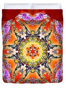 Painted Lotus Xvii Duvet Cover